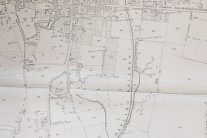 1870's map of Havant- Langstone